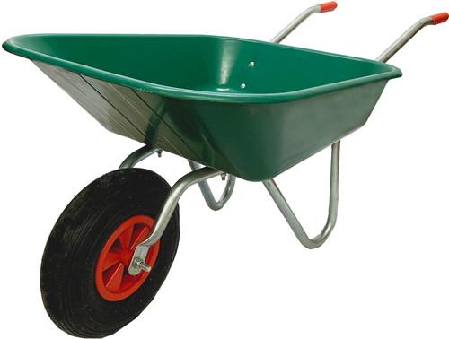 Bristol DIY Garden Light Work Plastic Wheelbarrow - 65 Ltr / 80kg