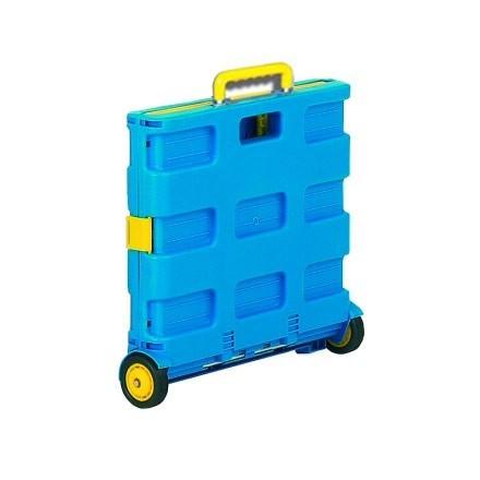 An image of Folding Box Cart Compact - 30Kg Capacity