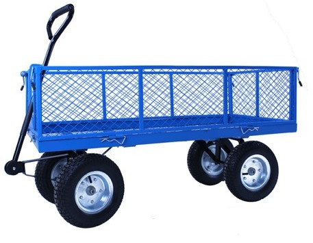 An image of Large Heavy Duty Garden Cart - 300Kg Capacity