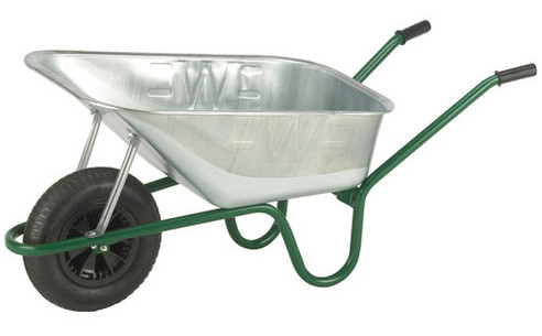 An image of The Professional Galvanised Wheelbarrow - 120 Ltr / 150Kg
