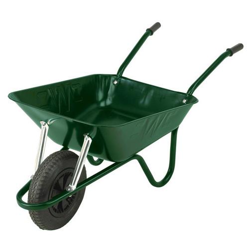 An image of The Easiload Green Wheelbarrow - 85 Ltr / 150Kg