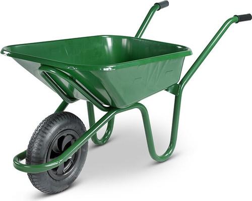 An image of The Endurance Green Wheelbarrow - 90 Ltr / 150Kg
