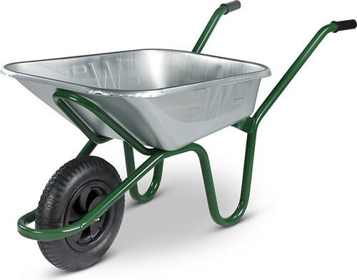 An image of The Endurance Galvanised Wheelbarrow - 90 Ltr / 150 kg