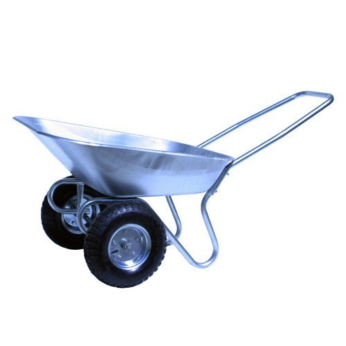 An image of Bristol Two Pneumatic Wheel Tipper Wheelbarrow 65 Litre