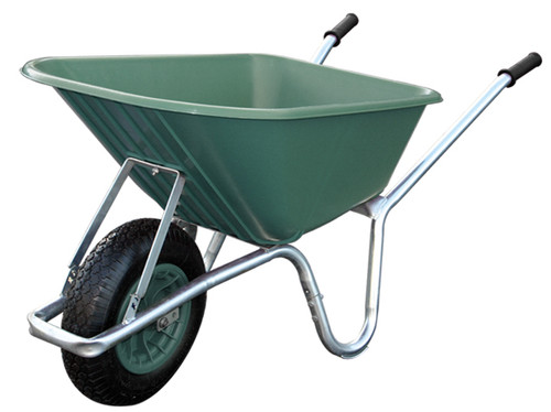 An image of Big Mucker 100 Ltr / 120 Kg Wheelbarrow - Green