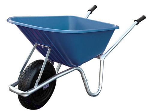 An image of Big Mucker 100 Ltr / 120 Kg Wheelbarrow - Blue