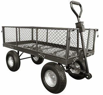 An image of 350kg Capacity Large Garden Cart