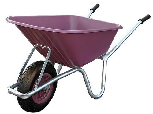 An image of Big Mucker 100 Ltr / 120 Kg Wheelbarrow - Purple
