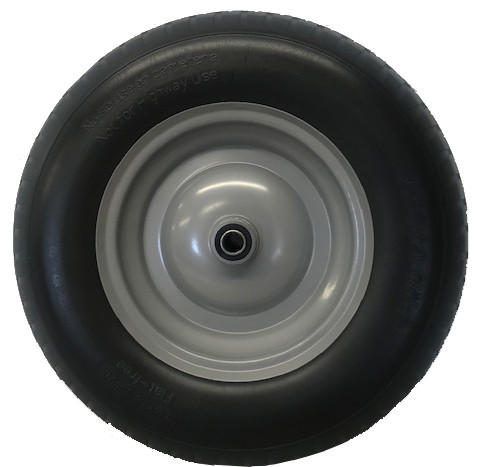 An image of Spare Puncture Proof Wheel For Plastic Two Wheel Wheelbarrow