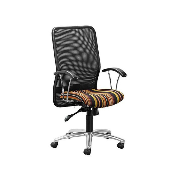 LC6-Lisa Netted Synchro High-back Chair