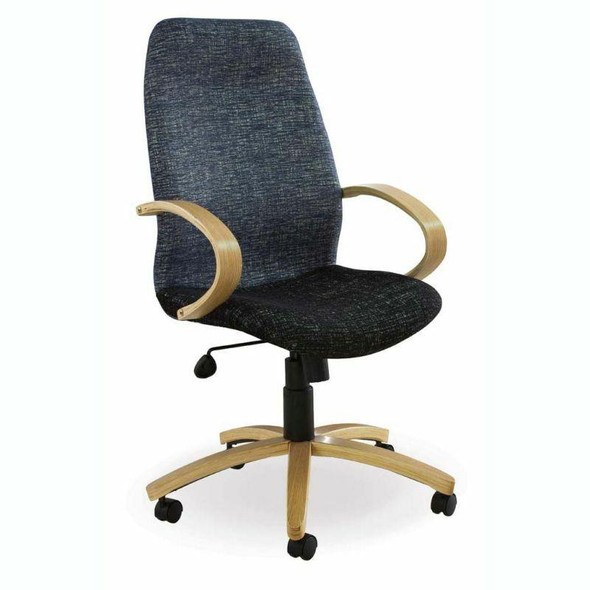 Morant Wooden High-back Chair