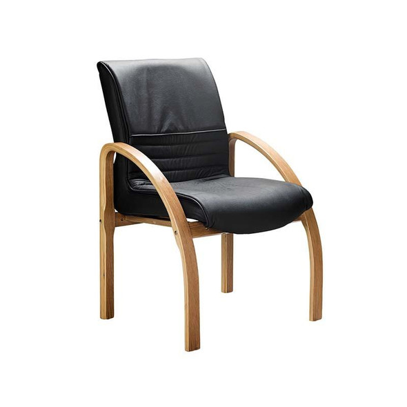 HWC3B Holly Wooden Visitor Chair