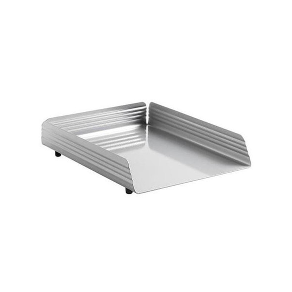 Fluted Steel Letter Tray Single