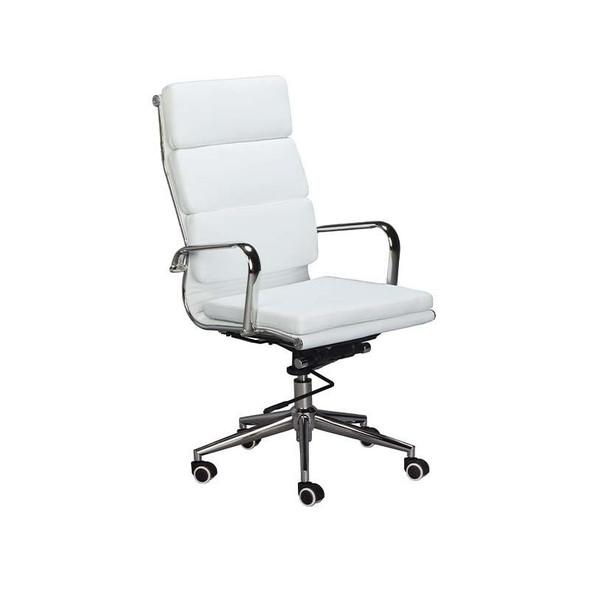Classic Eames Cushion High-back Chair