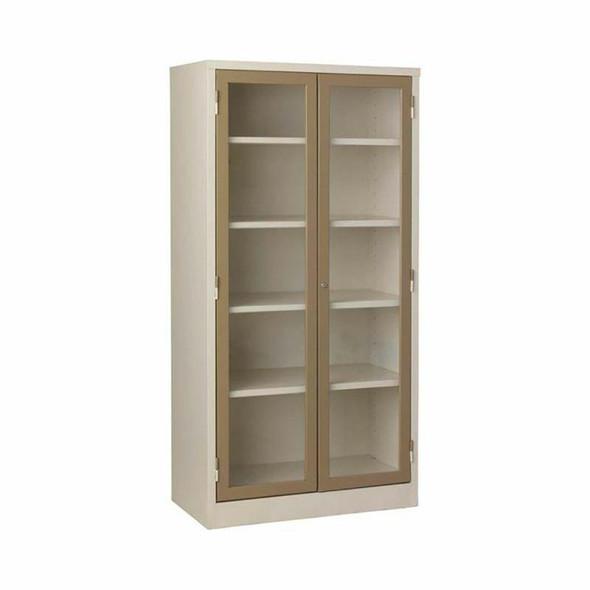 BC50 Steel Bookcase with Hinge Door