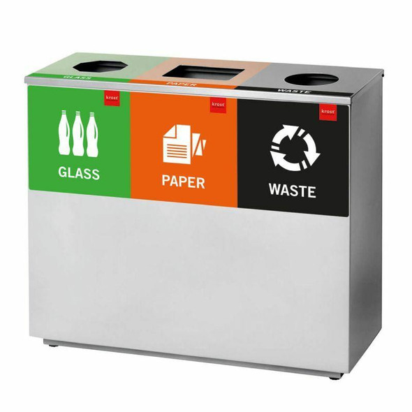 3 Division Recycle Bin