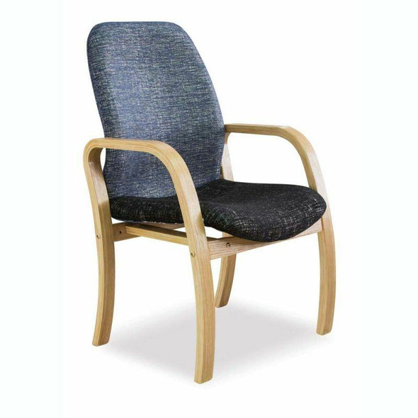 Morant Wooden 4 Legged Visitor Chair