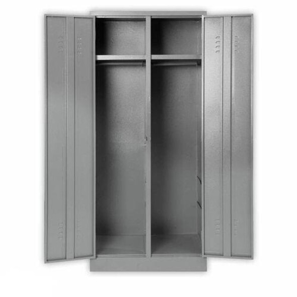 TRS2 Locker with Top Shelf and Hang Rail