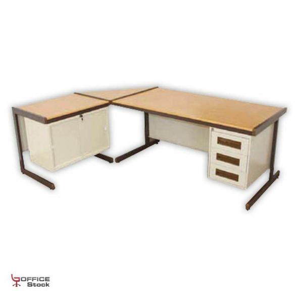 Steel Atlantic Desk Suite