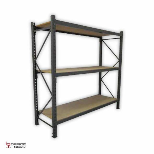 Medium Duty Racking with Chipboard Shelves