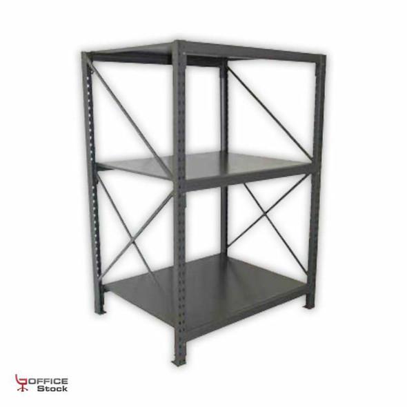 Medium Duty Racking with Steel Shelves