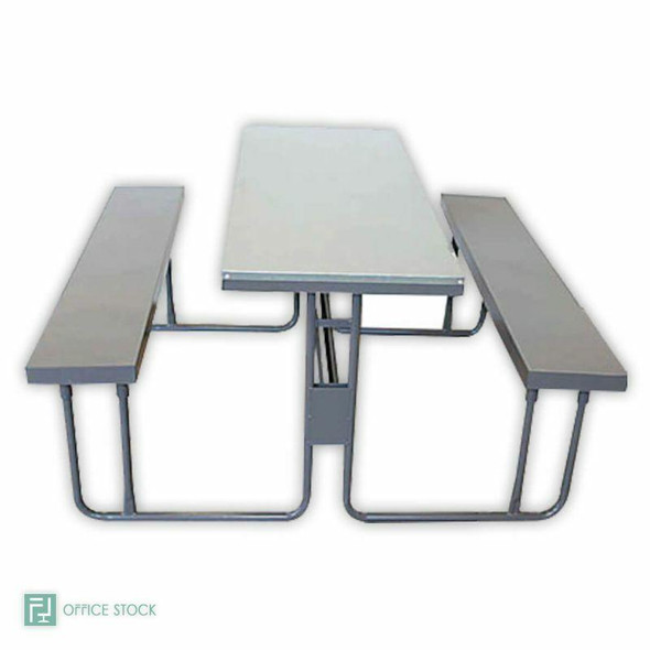 Steel Canteen Unit with Galvanised Top