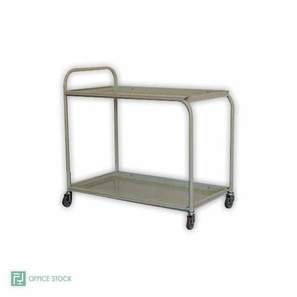 Steel Two Tier Tea Trolley