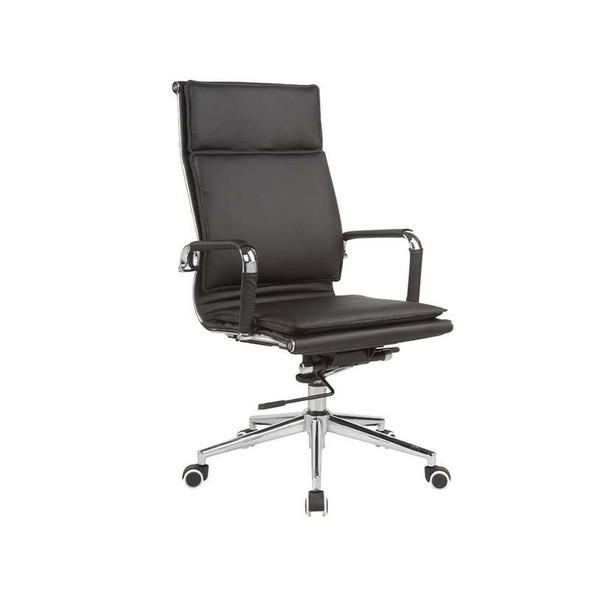 Classic Eames Flat Cushion High-back Chair