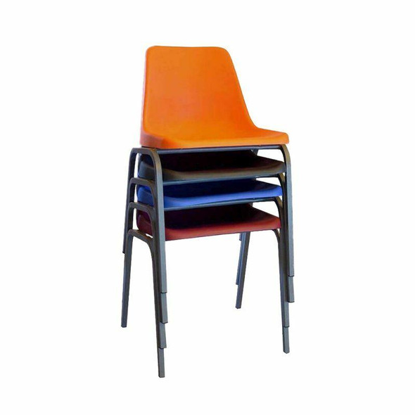Colour Poly Shell Chair
