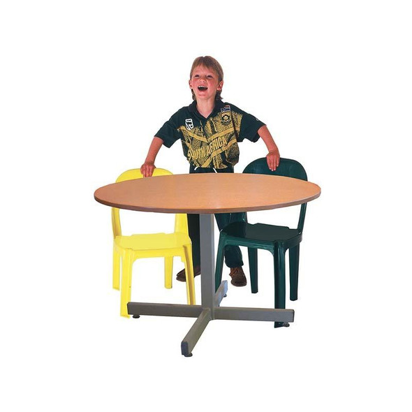 Round Supawood MDF Baby Table