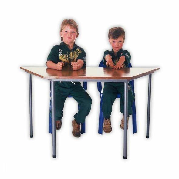 School Trapezoid Table Primary