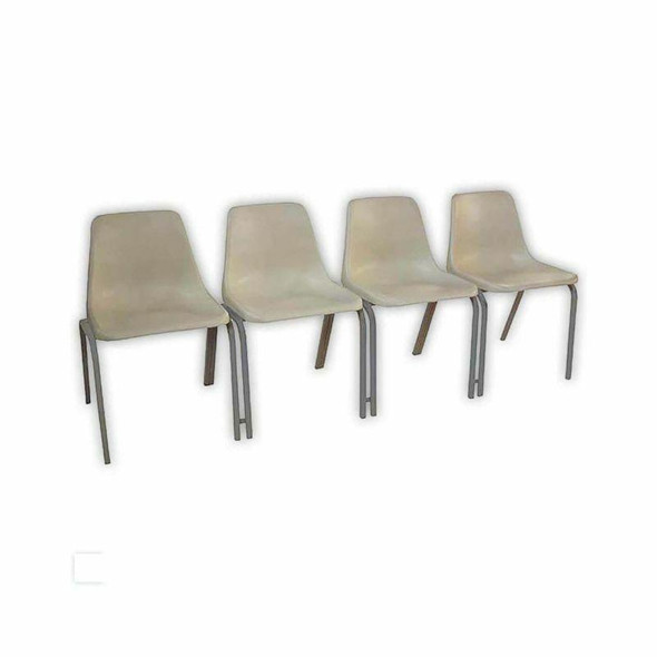 Poly Shell Seating Bank with 19mm Square Tubing Frame