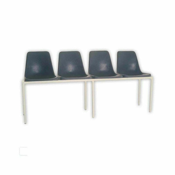 Poly Shell Seating Bank with 32mm Square Tubing Frame