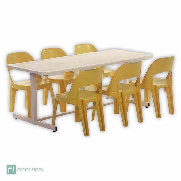 Rectangular Fibreglass Table