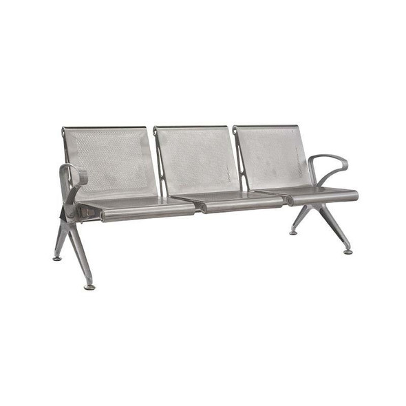3-Seater Die Cast Airport Bench