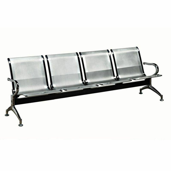 4-Seater Heavy Duty Airport Bench