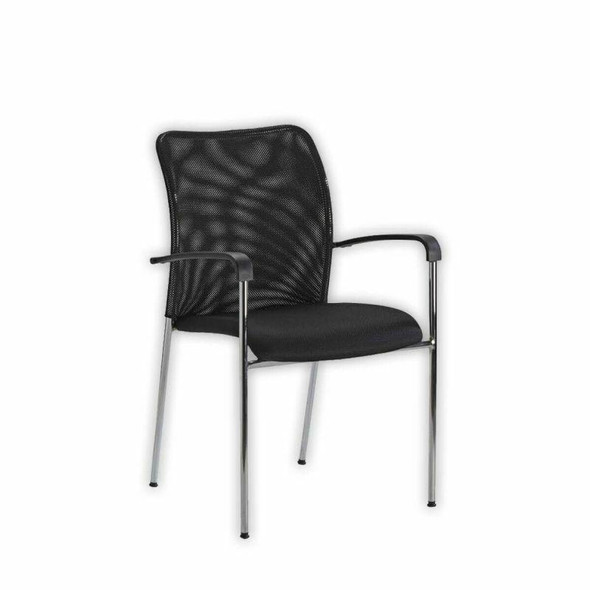 Modena 4 Legged Mesh Back Visitor Chair