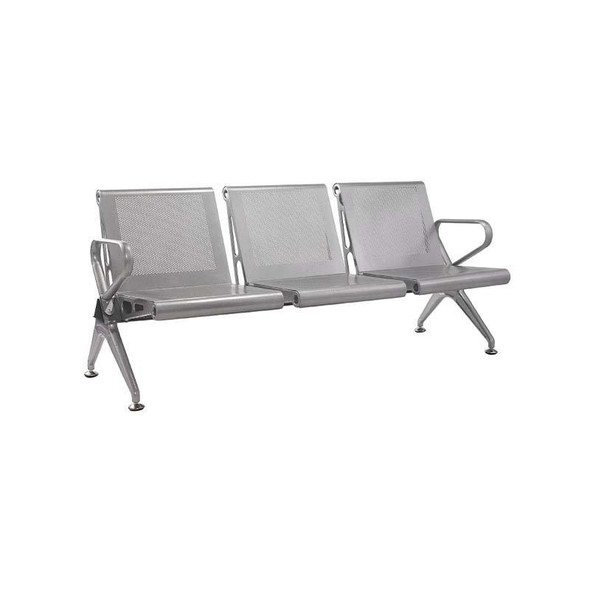 3-Seater New Chrome Delux Airport Bench