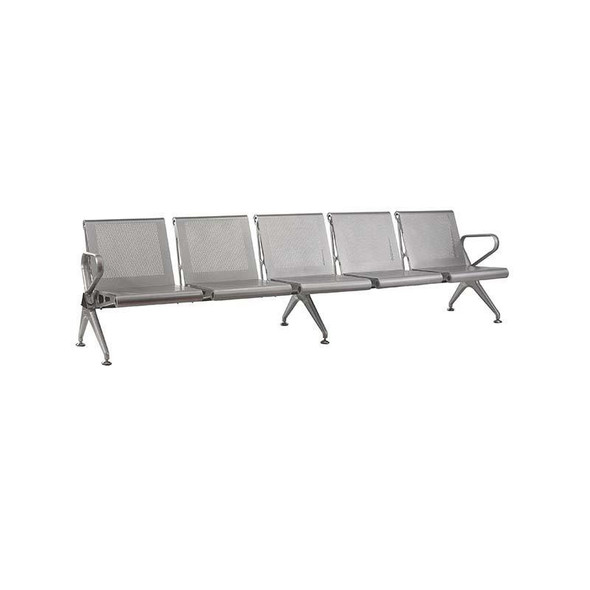 5-Seater New Chrome Delux Airport Bench