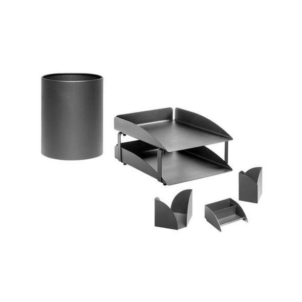 Modern Steel Desk Set