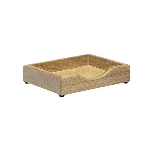 Executive Solid Wood Memo Pad Holder