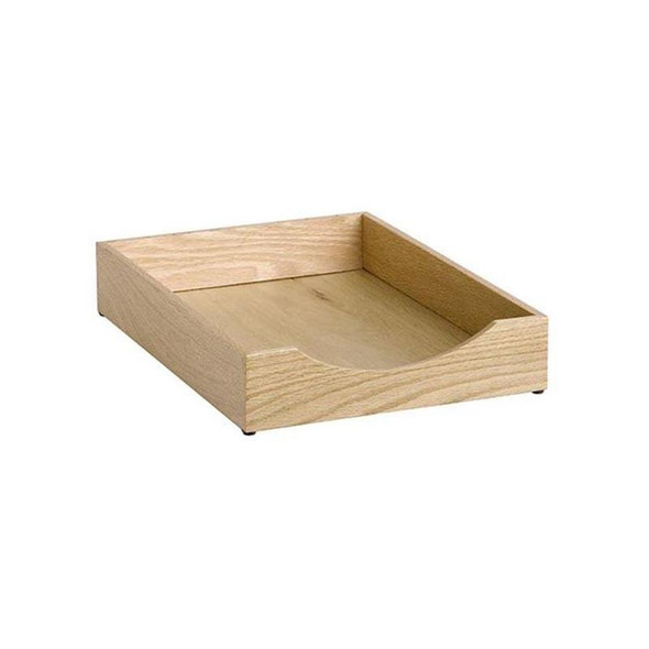 Contract Solid Wood Letter Tray Single