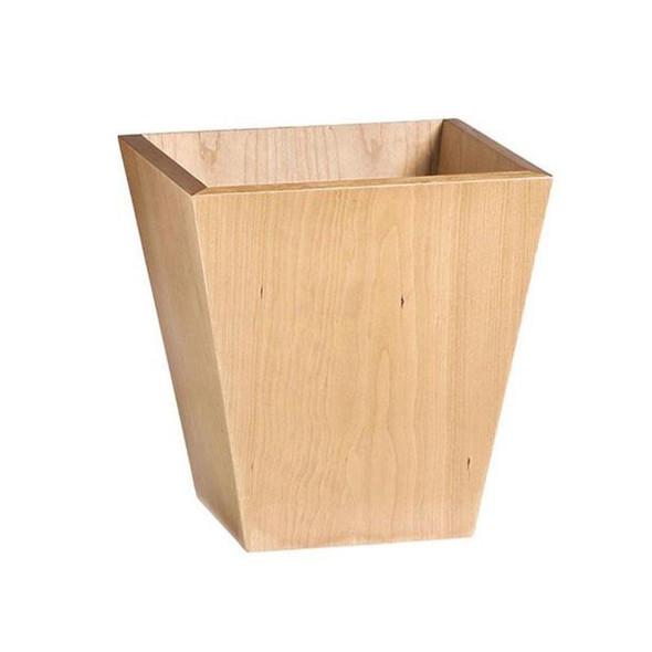Contract Solid Wooden Wastepaper Bin