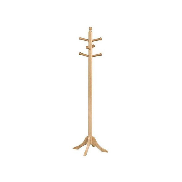 Contract Solid Wooden Hat Stand