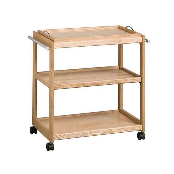 Contract Solid Wooden Tea Trolley