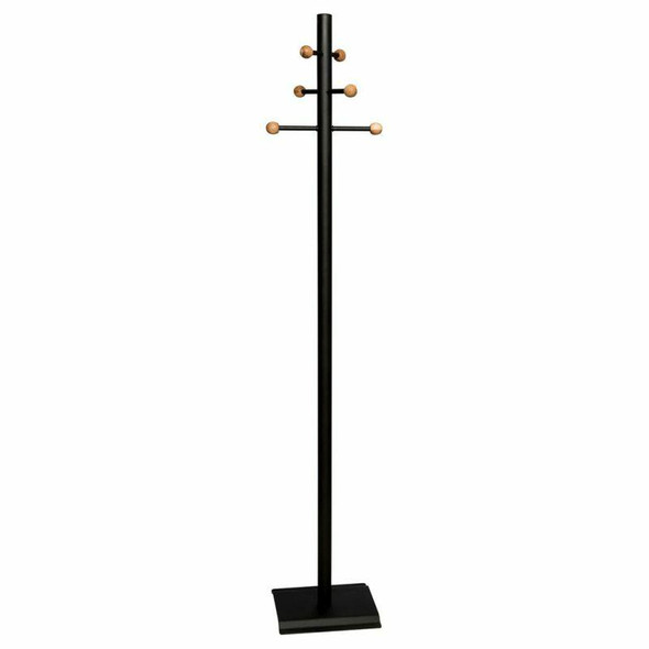 Coat And Hat Stand With Wooden Balls