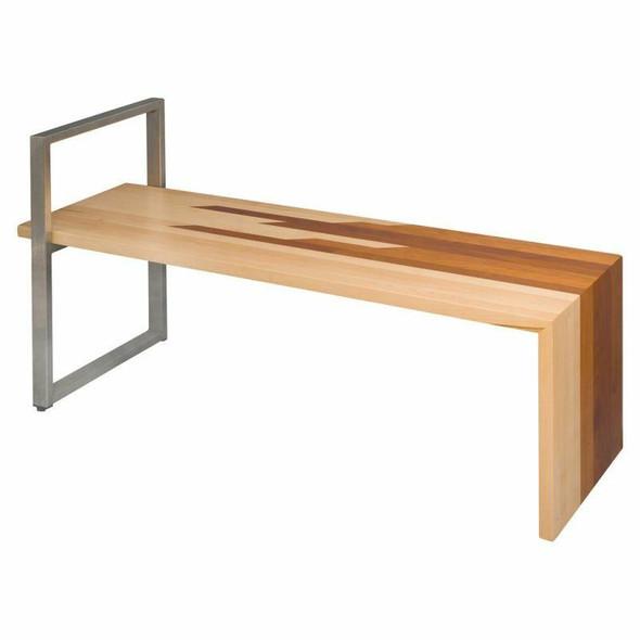 Heavy Duty Steel Solid Bench
