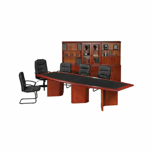 Bow Shaped Boardroom Table