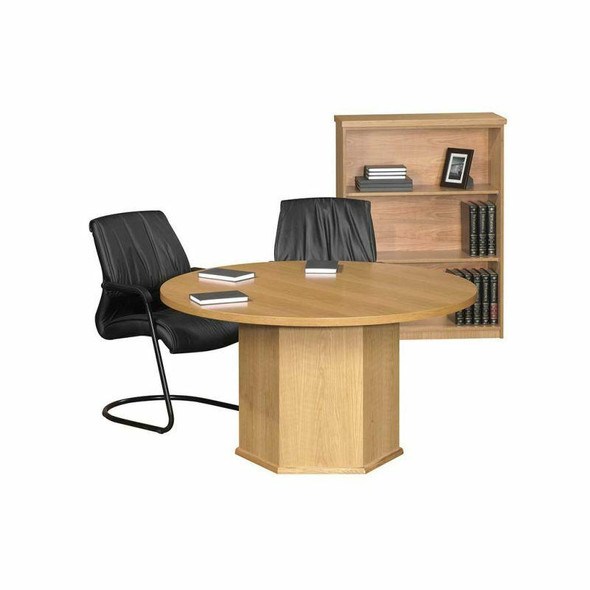 T-line Round Boardroom Table