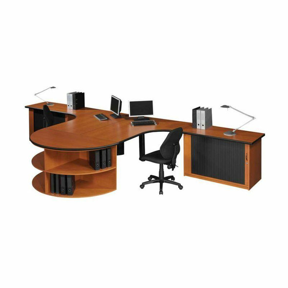 Euro 2 way Cluster Desk